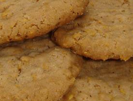 Cinnamon Cornflake Cookies