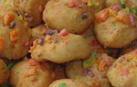 Froot Loops Cookies