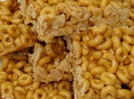 Honey & Peanut Butter Cheerios Squares